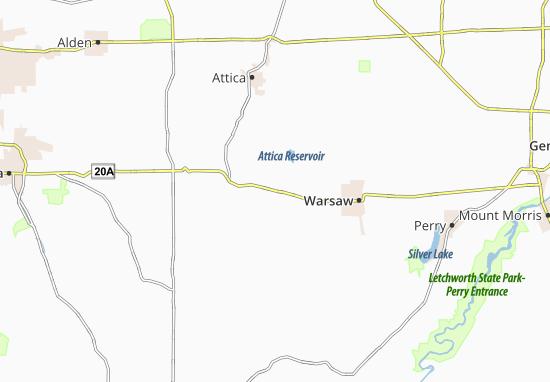 Orangeville Center Map