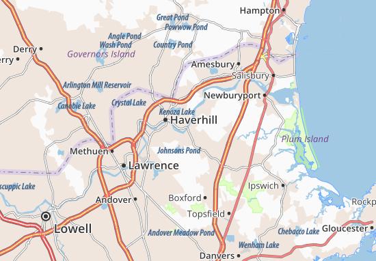Carte-Plan Groveland