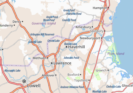 Haverhill Map