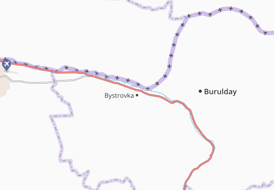 Bystrovka Map