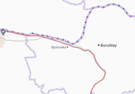 Mapa Plano Bystrovka