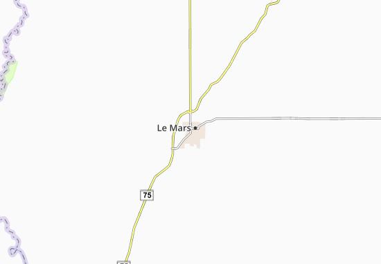Le Mars Map