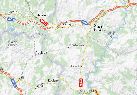 Monterroso Map