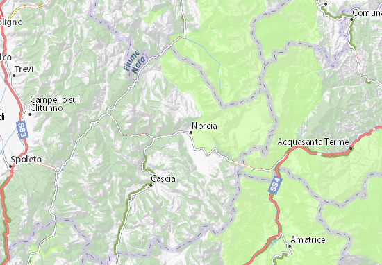 Mappe-Piantine Norcia