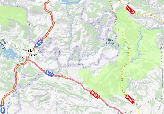 Mapas-Planos Puente de Valderredible