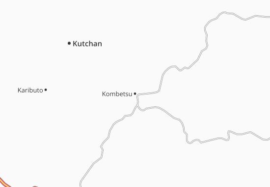 Mapa Plano Kombetsu