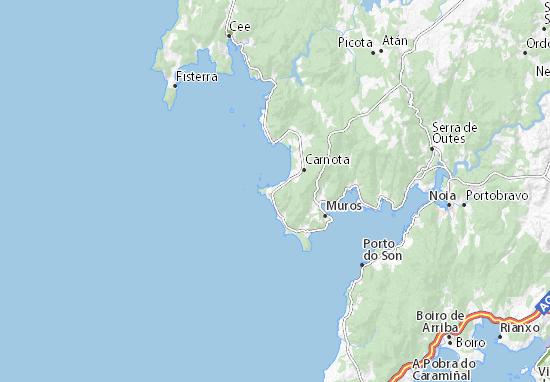 Map of Lira - Michelin Lira map - ViaMichelin