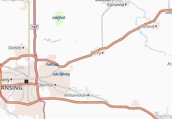 Shaftsburg Map