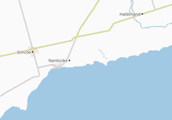 Nanticoke Map
