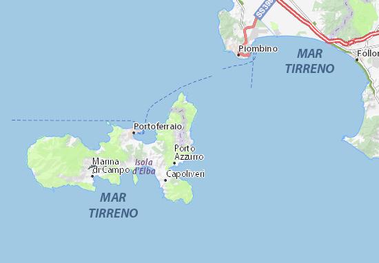 Mappe-Piantine Rio Marina