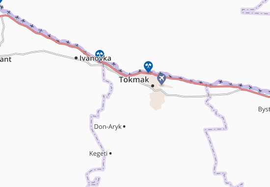 Akbeshi Map