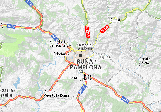 Pamplona Map