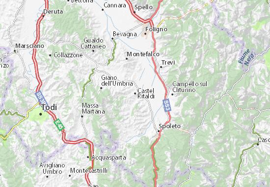 Mappe-Piantine Castel Ritaldi