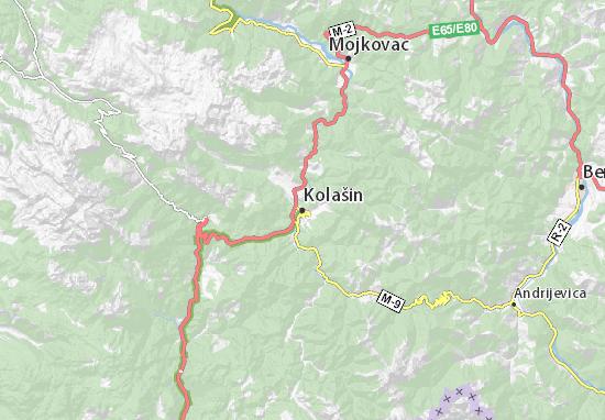 Mapas-Planos Kolašin
