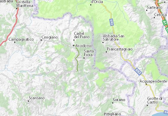 Mappe-Piantine Santa Fiora