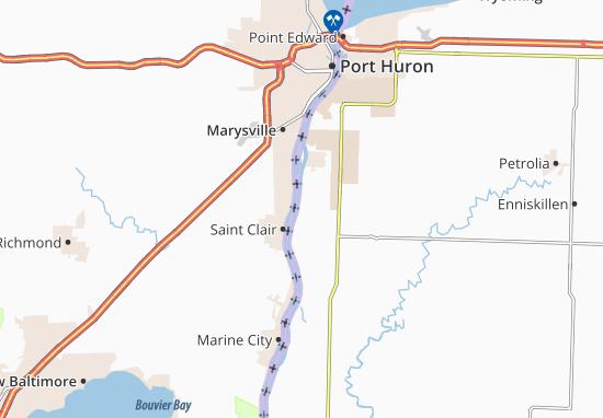 Mooretown Map