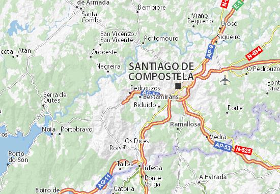 Bertamiráns Map