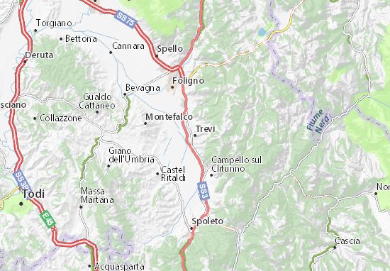 Mappe-Piantine Trevi