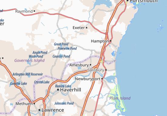 Carte-Plan South Hampton