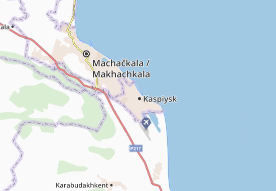 Kaspiysk Map