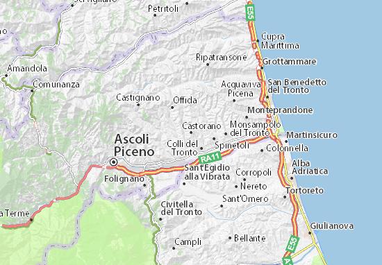 Mapas-Planos Castorano