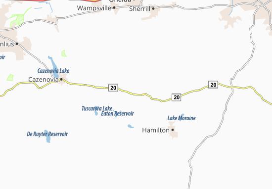 Morrisville Map