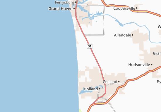 Carte-Plan Port Sheldon