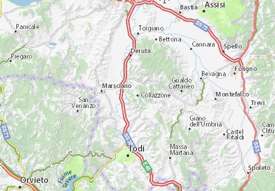 Mappe-Piantine Collazzone