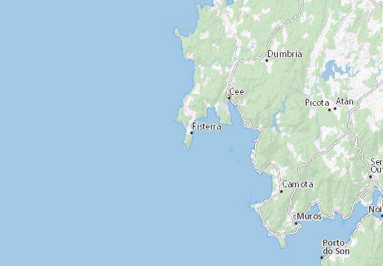 Fisterra Map