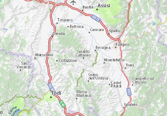Mappe-Piantine Gualdo Cattaneo