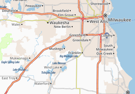 Muskego Map