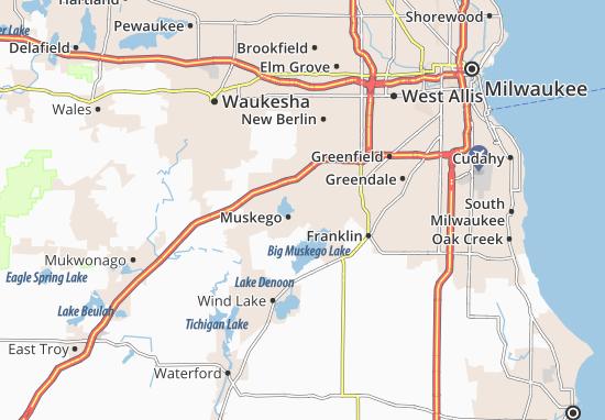 Mapas-Planos Muskego