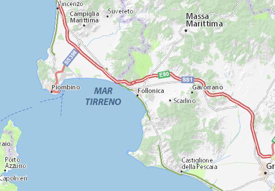 Mappe-Piantine Follonica