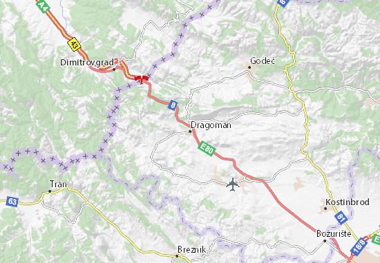 Mapa Plano Dragoman