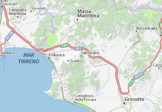 Mappe-Piantine Gavorrano