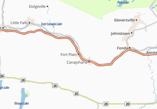 Fort Plain Map