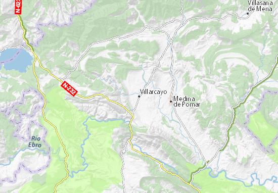 Mapas-Planos Villarcayo