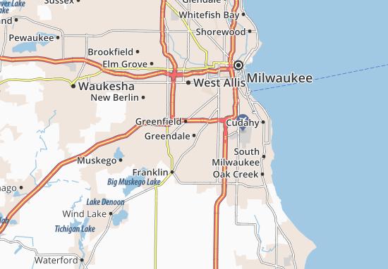 Greendale Map