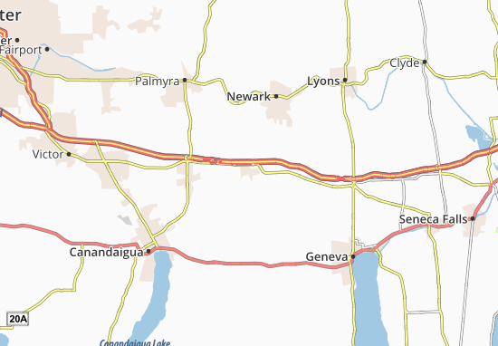 Mapas-Planos Clifton Springs