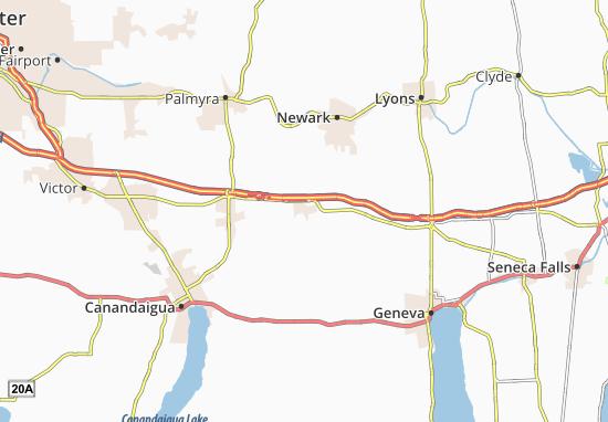 Clifton Springs Map