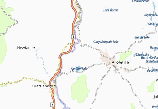 Westmoreland Map