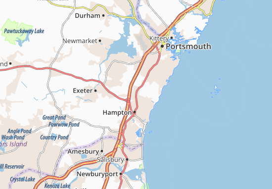 North Hampton Map