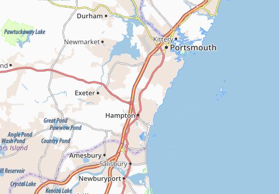 Carte-Plan North Hampton