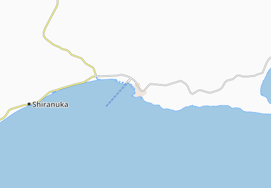 Kaart Plattegrond Kushiro