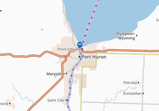 Mapas-Planos Port Huron
