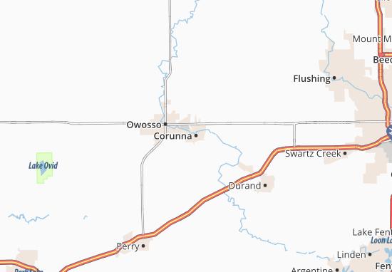 Corunna Map