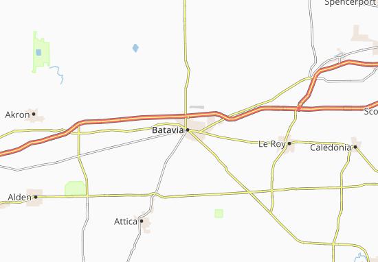 Batavia Map