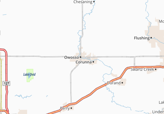 Owosso Map
