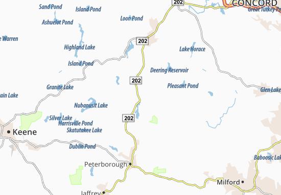 Bennington Map