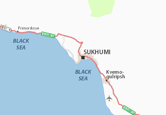 Mappe-Piantine Sukhumi